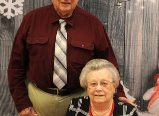 Couple at Pioneer Health & Rehab Celebrating 70 Years of Wedded Bliss!