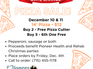 Pizza Sale!