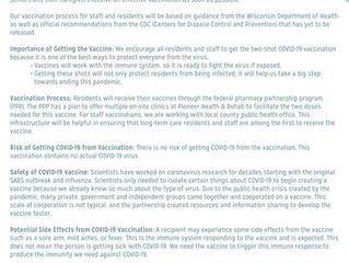 COVID-19 Update - The Vaccine