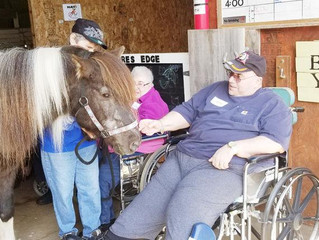 Pioneer Residents Visit Therapy Center - As Seen in Barron News-Shield