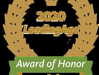 2020 LeadingAge Award of Honor
