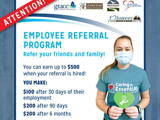 Employee Referral Program!