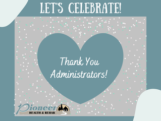 Long Term Administrator's Week!