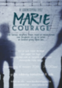 affiche A3 marie courage 6 maart 297 x 4
