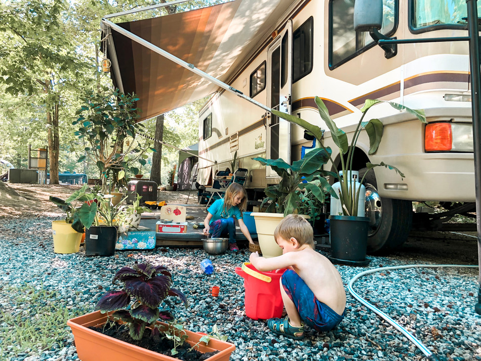Activities for children while Full Time RV'ing