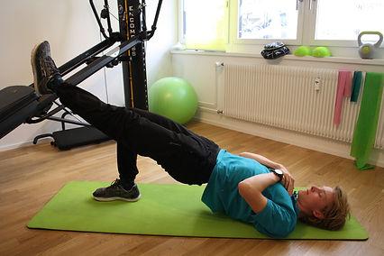 Training im Homeoffice mit Physiotherapie PhysioBasel