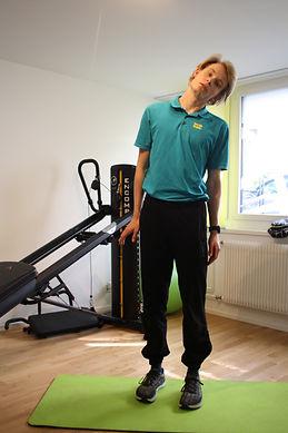 Training im Homeoffice mit Physiotherapie bei PhysioBasel