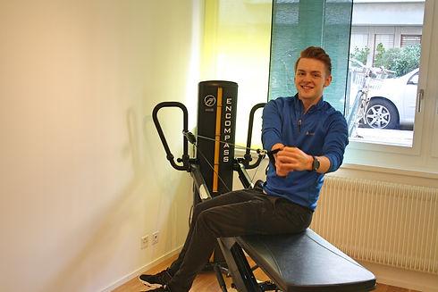 Medizinische Trainingstherapie bei der Physiotherapiepraxis PhysioBasel