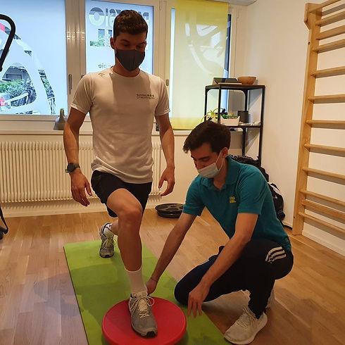 Physiotherapie für Sportler zur Leistungsverbesserung  - Spezialisten in Basel