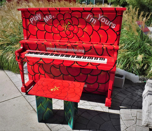 Piano in Chinatown Park (October)
