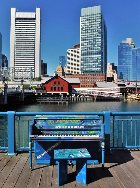 Piano by the Boston Children's Museum