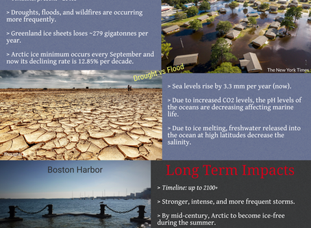 Infographics have Arrived! Climate Change!!