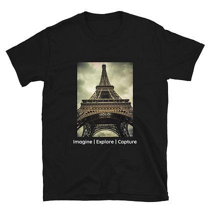 Vintage Tour Eiffel Short-Sleeve Unisex T-Shirt