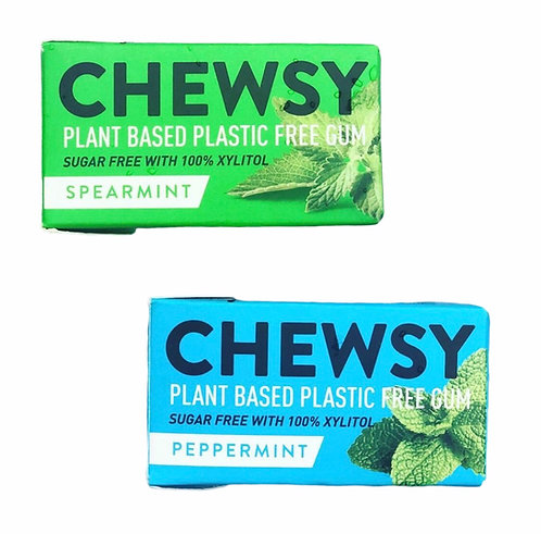 Chewsy Plastic Free Chewing Gum (2 Flavours)