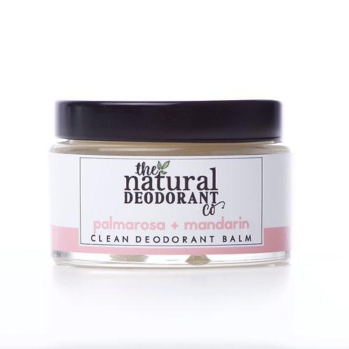 Natural Deo Co Natural Deodorant Palmarosa & Mandarin