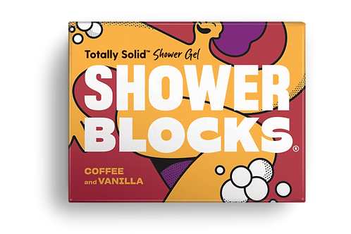 Shower Blocks Coffee & Vanilla Solid Shower Gel