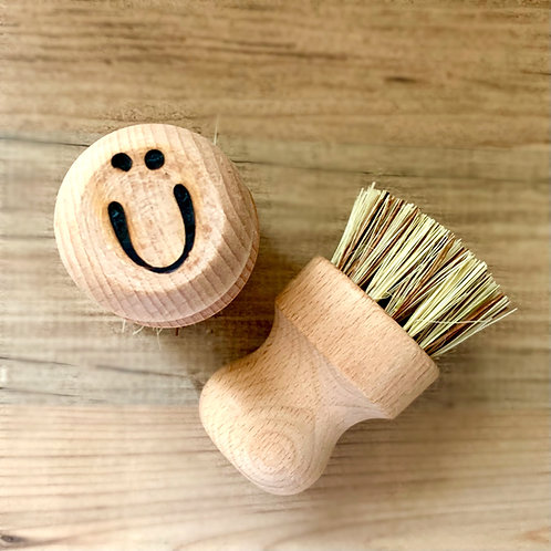 Moonie Wooden 'Neil' Dish Brush