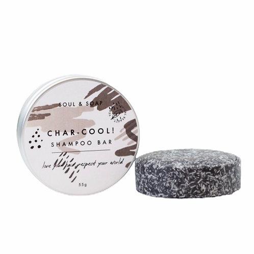 Char Cool Soul and Soap Shampoo Bar