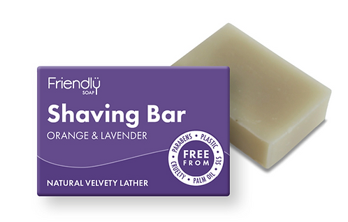 Friendly Orange & Lavender Shaving Soap Bar