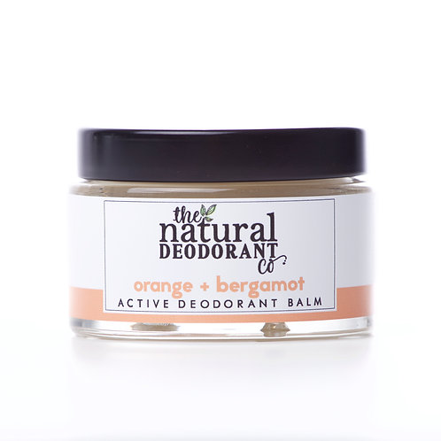 Natural Deo Co Natural Deodorant Active Orange & Bergamot