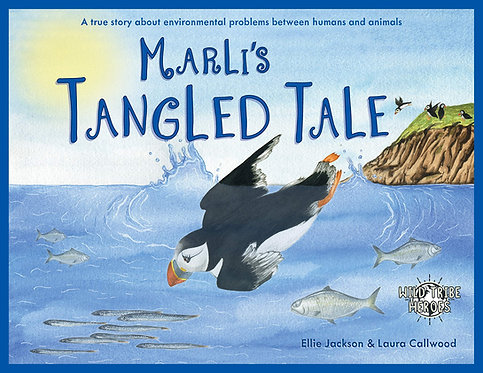 Marli's Tangled Tale Wild Tribe Heroes Children's Book