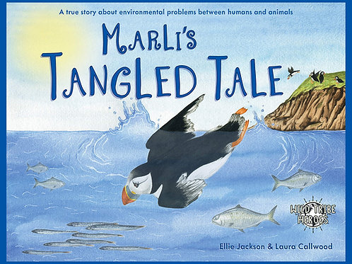 Marli's Tangled Tale Wild Tribe Heroes Children's Book