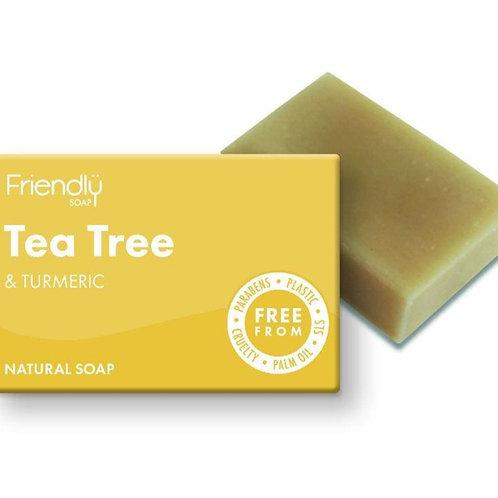 Friendly Tea Tree & Turmeric Soap Bar