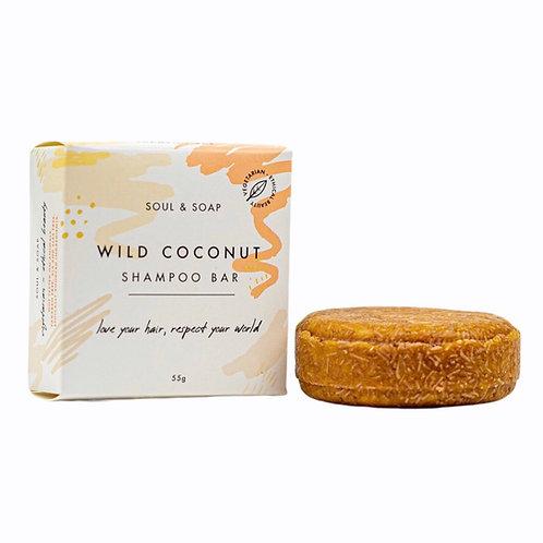 Wild Coconut Soul and Soap Shampoo Bar