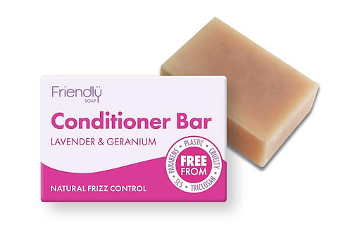 Friendly Lavender & Geranium Conditioner Bar