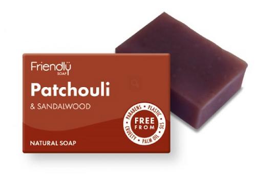 Friendly Patchouli & Sandalwood Soap Bar