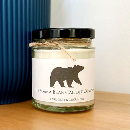 Earl Grey and Cucumber Candle
