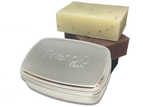 Friendly Metal Travel Tin