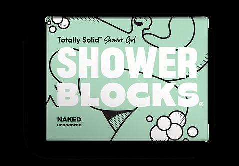 Shower Blocks Unscented Solid Shower Gel