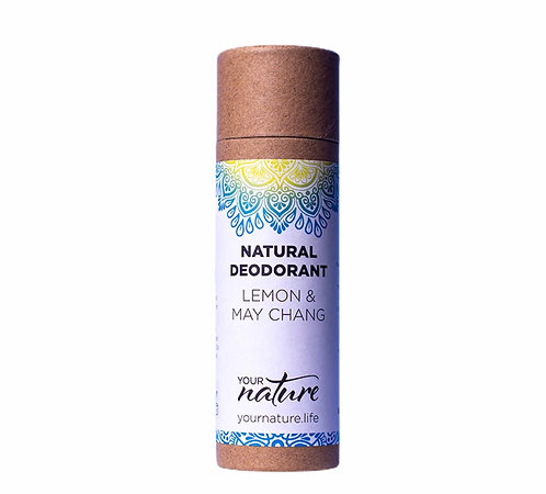 Your Nature Lemon & May Chang Natural Deodorant