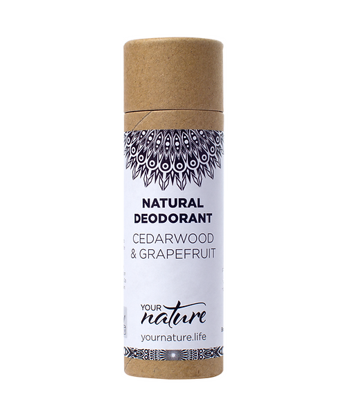 Your Nature Cedarwood & Grapefruit Natural Deodorant