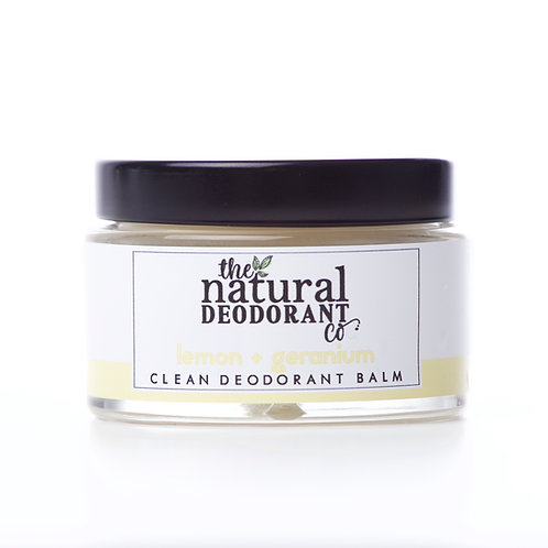 Natural Deo Co Natural Deodorant Lemon & Geranium