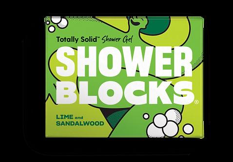 Shower Blocks Lime & Sandalwood Solid Shower Gel