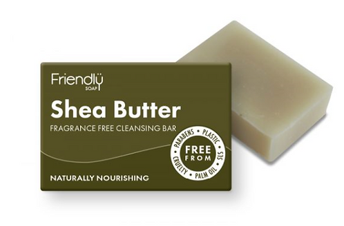 Friendly Shea Butter Face Cleansing Bar
