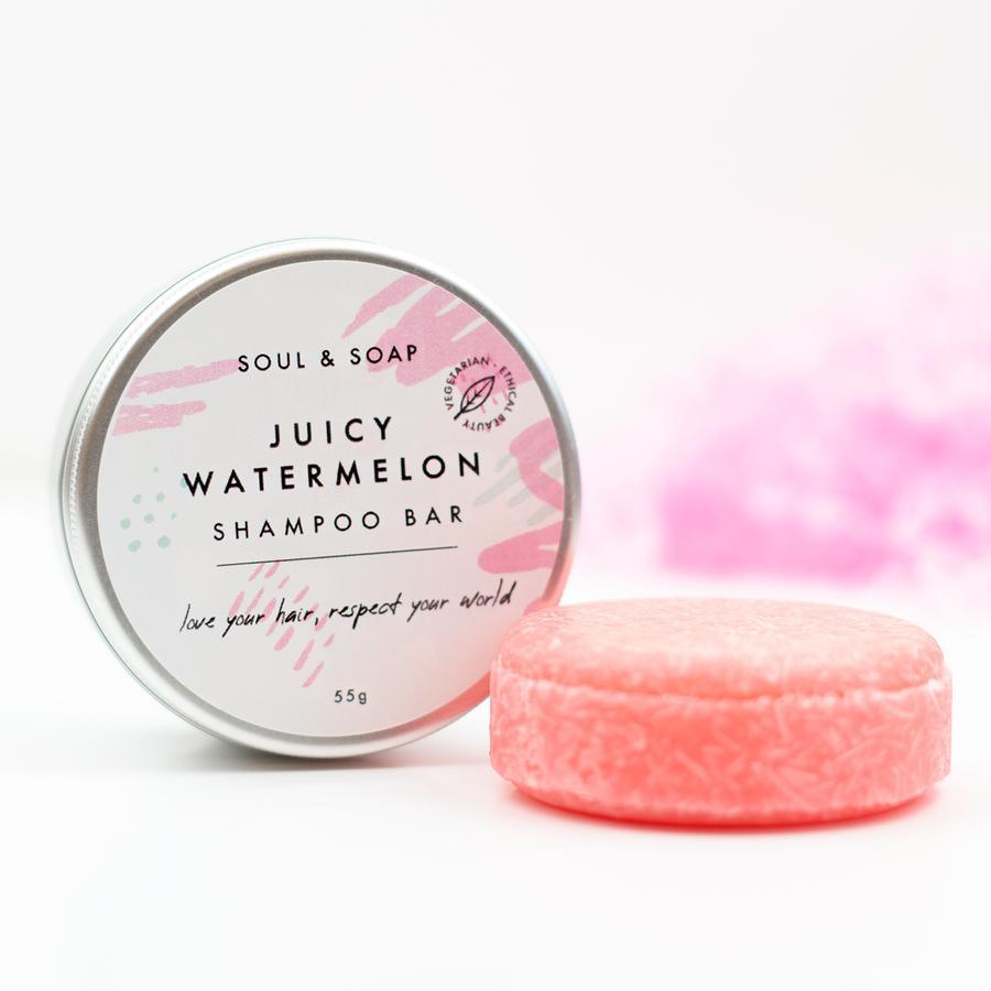 Juicy Watermelon Shampoo Bars