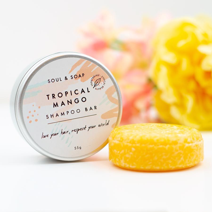 Tropical Mango Shampoo Bars