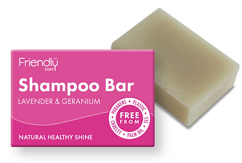 Friendly Lavender & Geranium Shampoo Bar