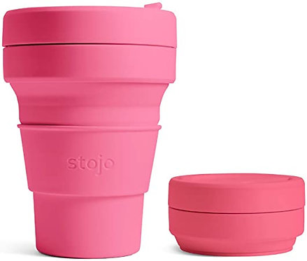 Stojo Collapsible Coffee Cups Peony