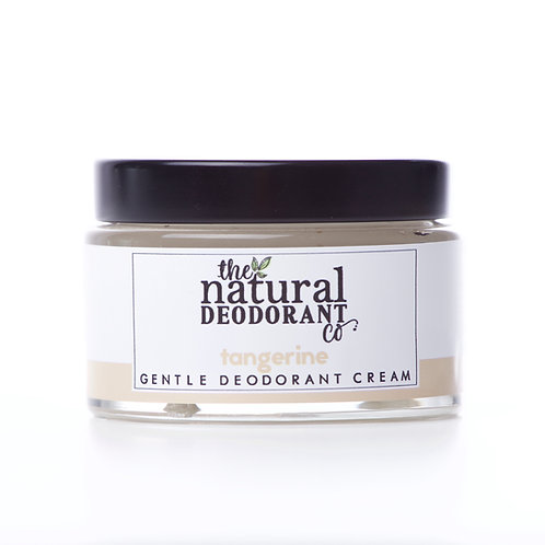 Natural Deodorant Co Tangerine Natural Deodorant in a jar