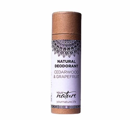 Your Nature Cedarwood & Grapefruit Natural Deodorant