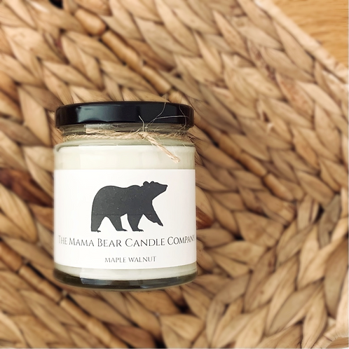 Maple Walnut Candle