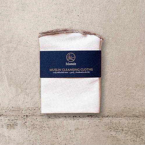 Moonie - Muslin Cleaning Cloths (3 pack)