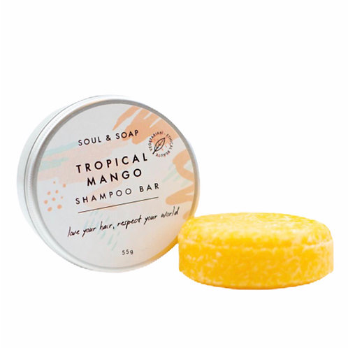 Tropical Mango Soul and Soap Shampoo Bar