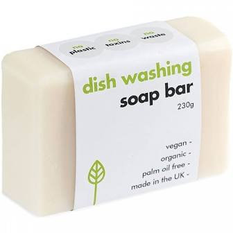 Washing up dish soap bar
