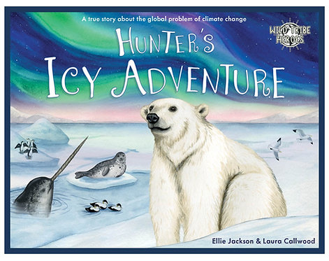Hunter's Icy Adventure - Children's Book