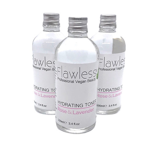 Flawless Rose & Lavender Hydrating Toner 100ml